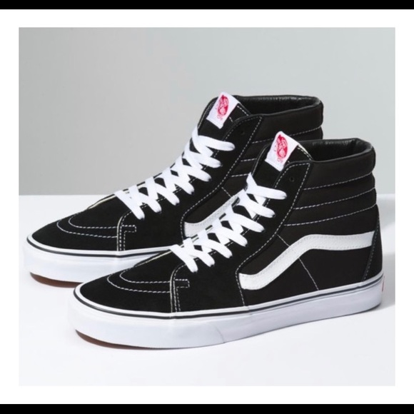 d626a504d0 Vans Black And White SK8 HI High Top Skate Sneaker.  M 5c3d58622beb79bba3624884. Other Shoes ...